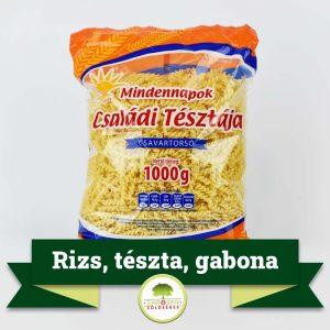 Rizs, tészta, gabonafélék