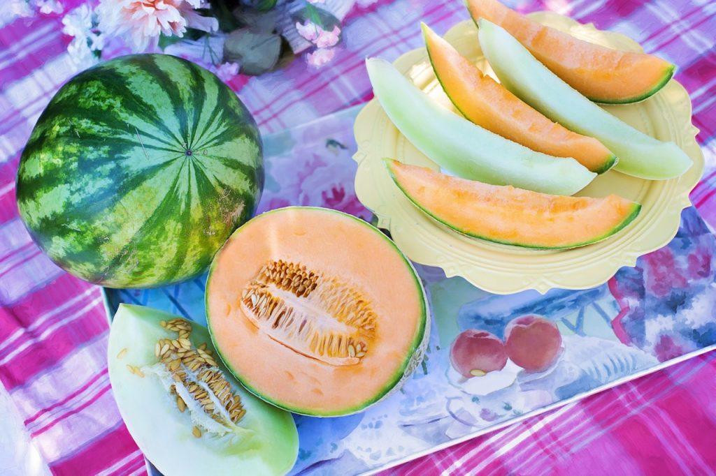 Július hónap zöldségei és gyümölcsei