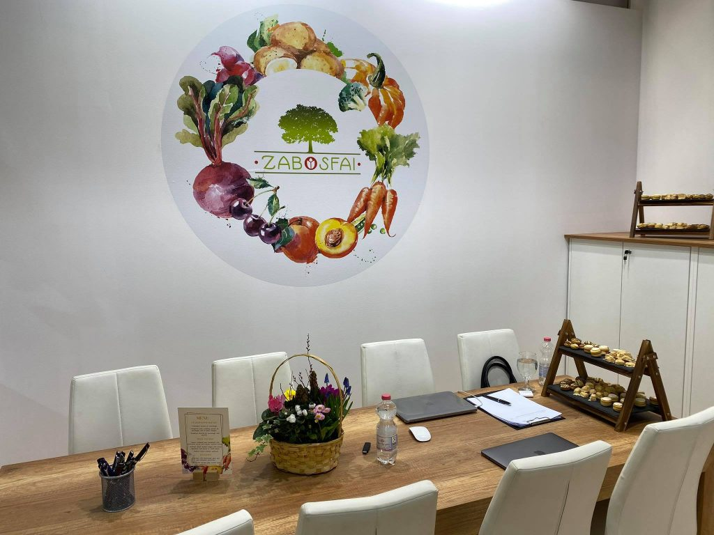 A Zabosfa KerTÉSZ Kft. a Fruit Logistica kiállításon 2020-ban