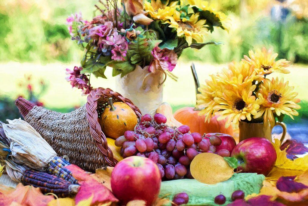 Szeptember hónap zöldségei és gyümölcsei