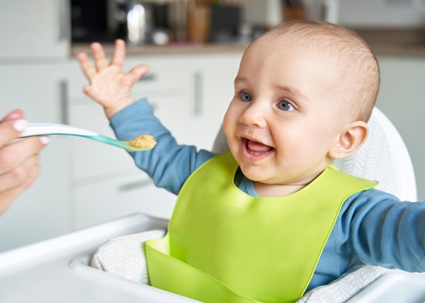 A babák számára a hozzátáplálás őszi terményekkel egy új kaland lehet