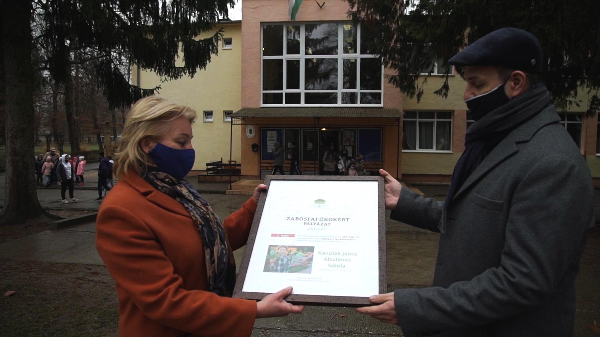 Zabosfai Ökokert első helyezett 1. iskola