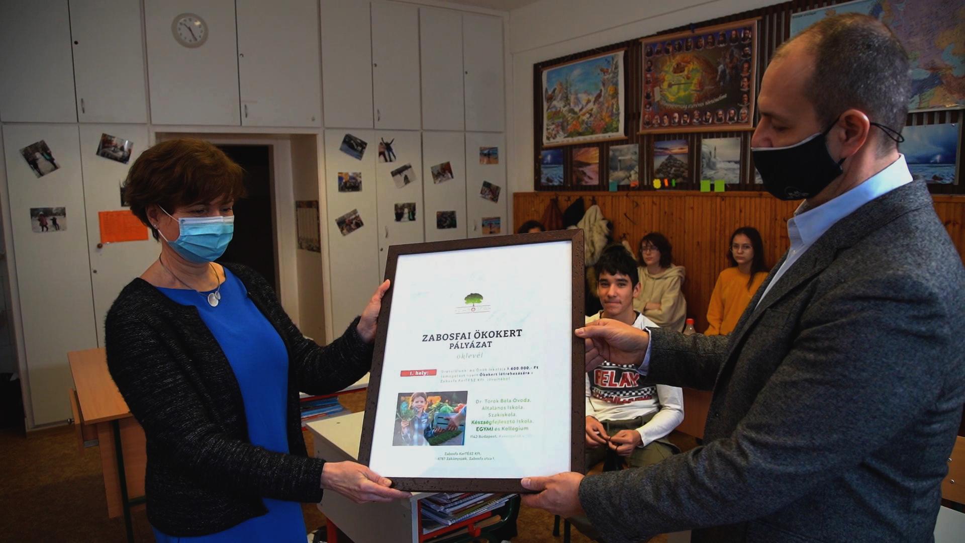Zabosfai Ökokert első helyezett 2. iskola